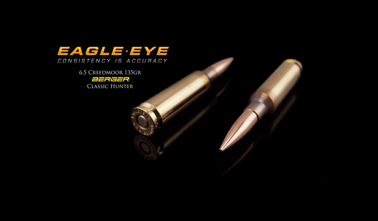 Eagle Eye Ammunition 135gr Berger Classic Hunter