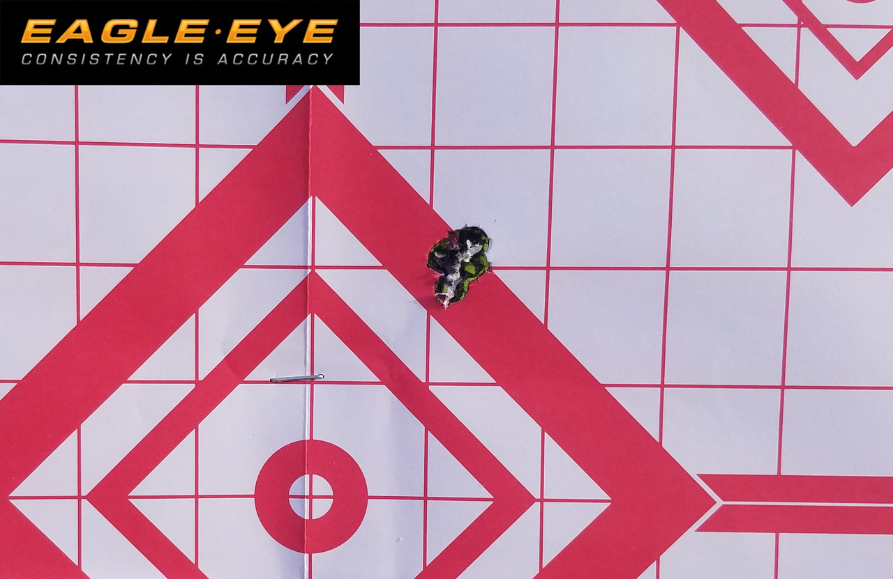 """Eagle Eye 6.5 Creedmoor Precision Match Hunting Ammunition - Berger 135gr Classic Hunter 5 Round Accuracy Test - Mausingfield with 28"""" Shilen Barrel from a Bipod with Rear bag"""