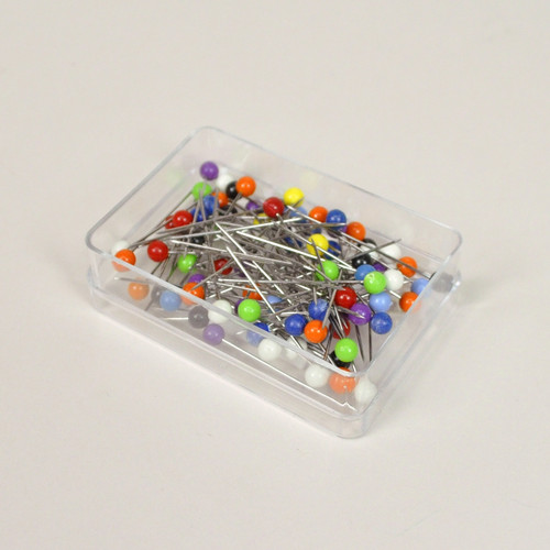 Colour Plastic Headed Pins