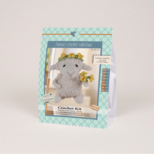 Go Handmade Helene 20cm Sheep Crochet Kit