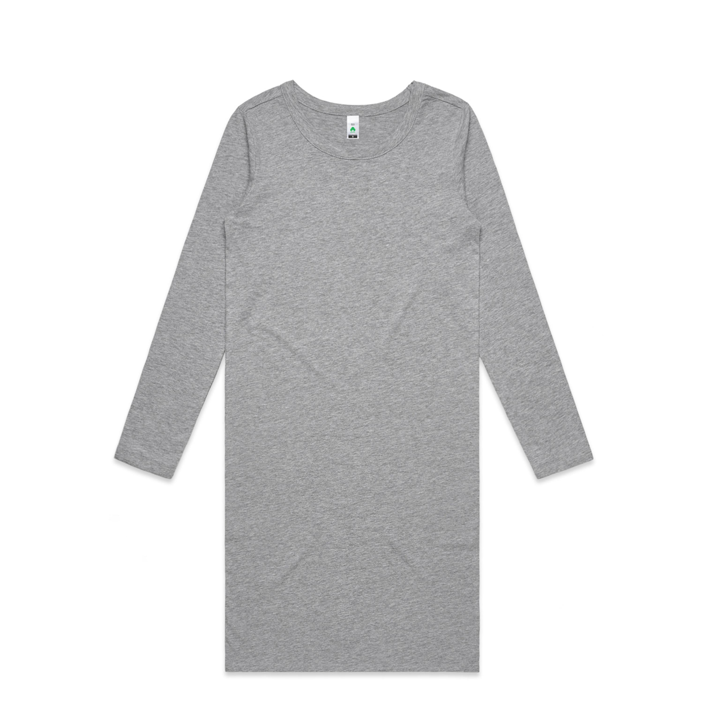 Wo's Mika Organic L/s Dress - 4033