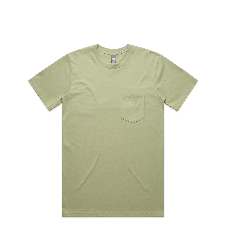 Mens Classic Pocket Tee - 5027