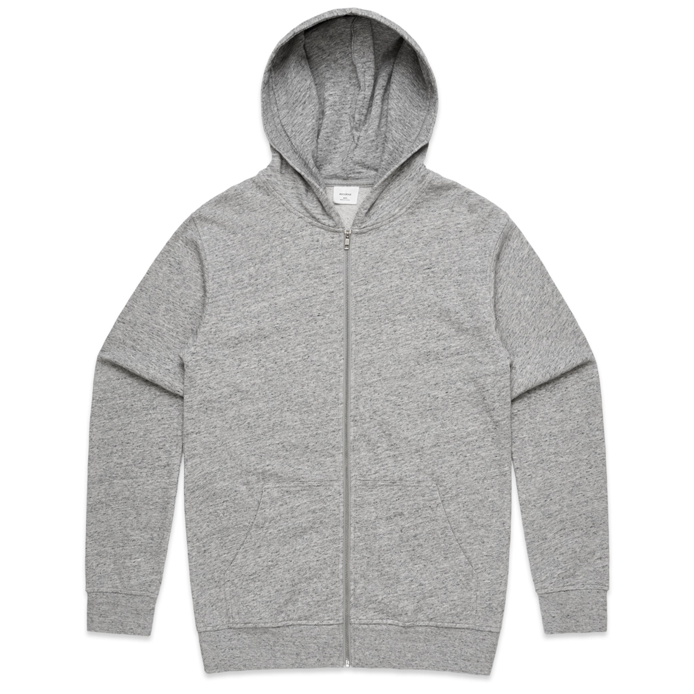 Mens Fleck Zip Hood - 5124