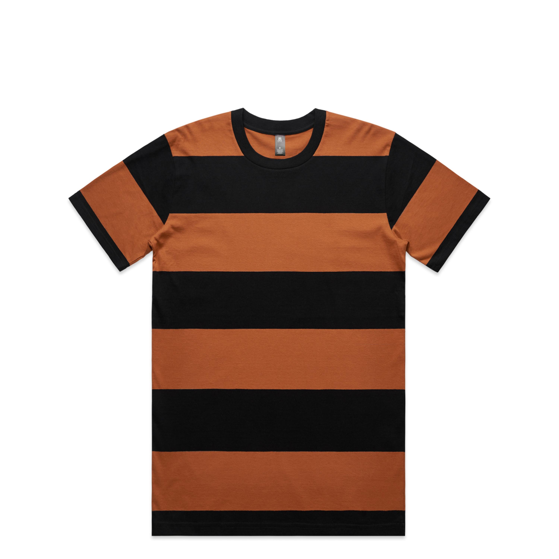 Mens Wide Stripe Tee - 5045