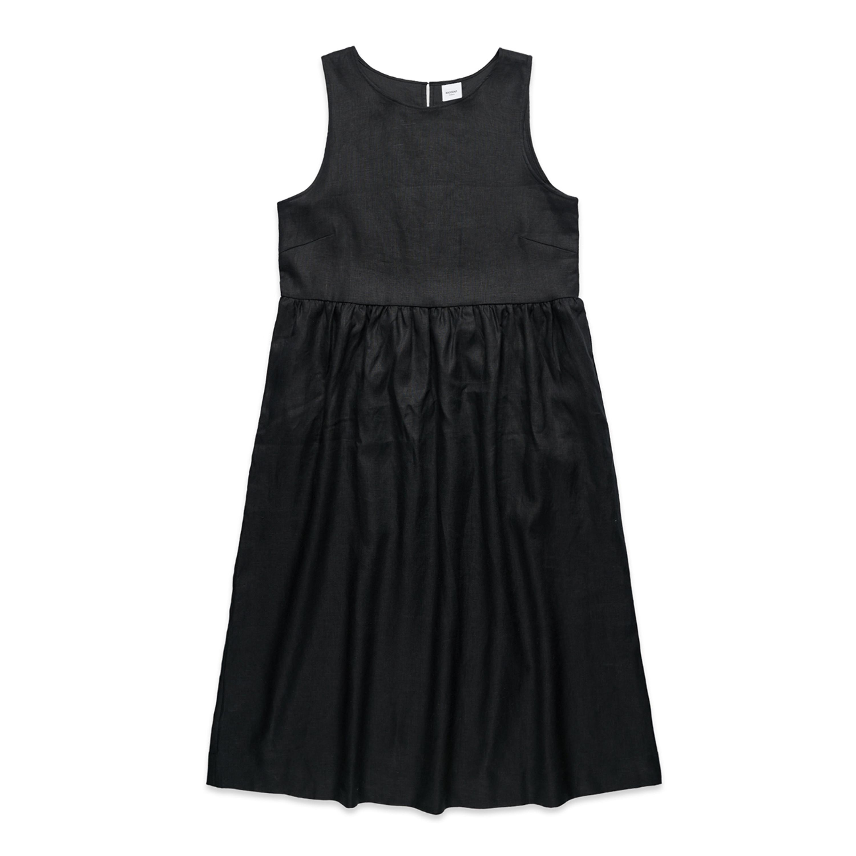 Wo's Linen Dress - 4904