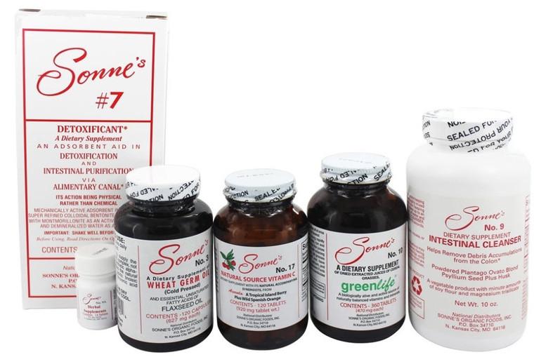 Sonne #20 7 Day Detox Cleansing Kit