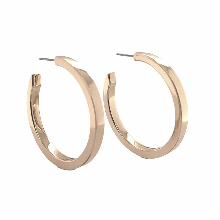 Balaam's Fusion Hollow Hoop Earrings in large. New with tags.