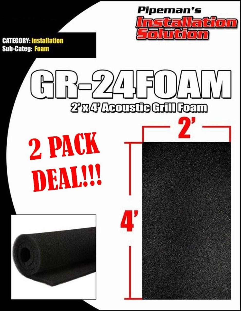 "2 PAIR HA-10 DJ SPEAKER BOX ENCLOSURE POCKET HANDLES BLACK PLASTIC 5.5/"" X 3.5/"""