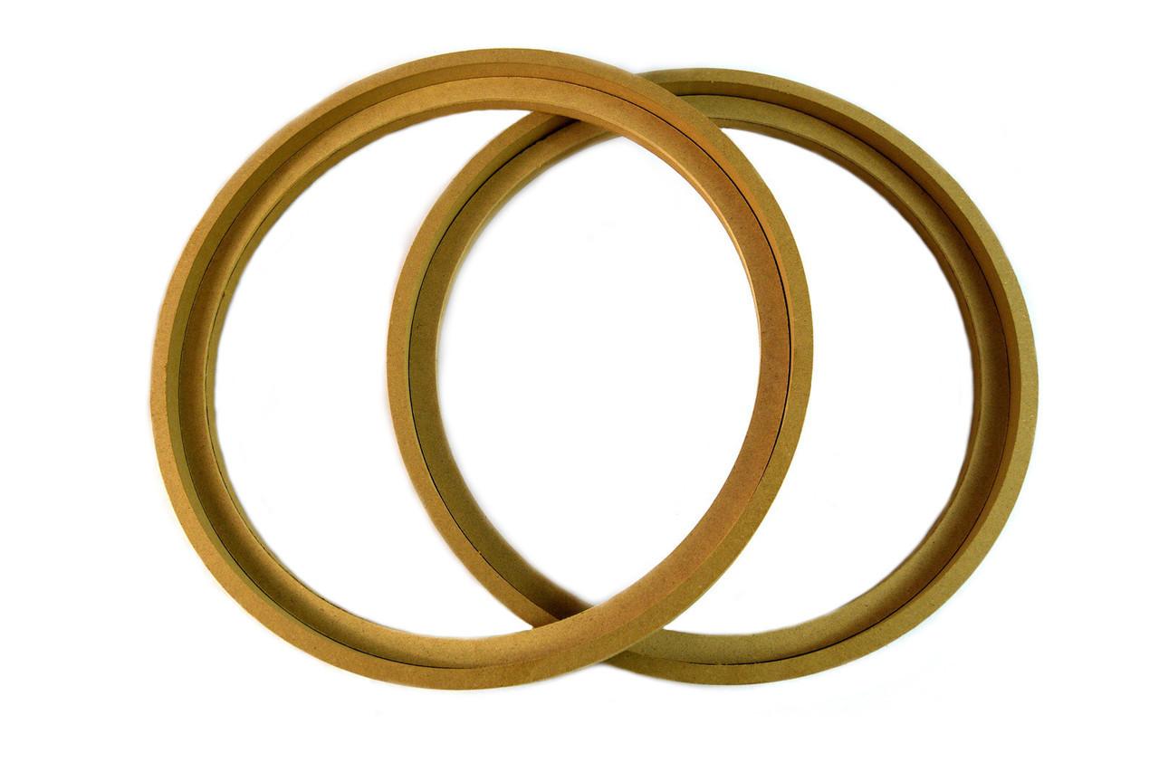 "1 Pair 5.25/"" MDF Speaker Ring RING-5.25R Speaker Mounting Spacer Rings"