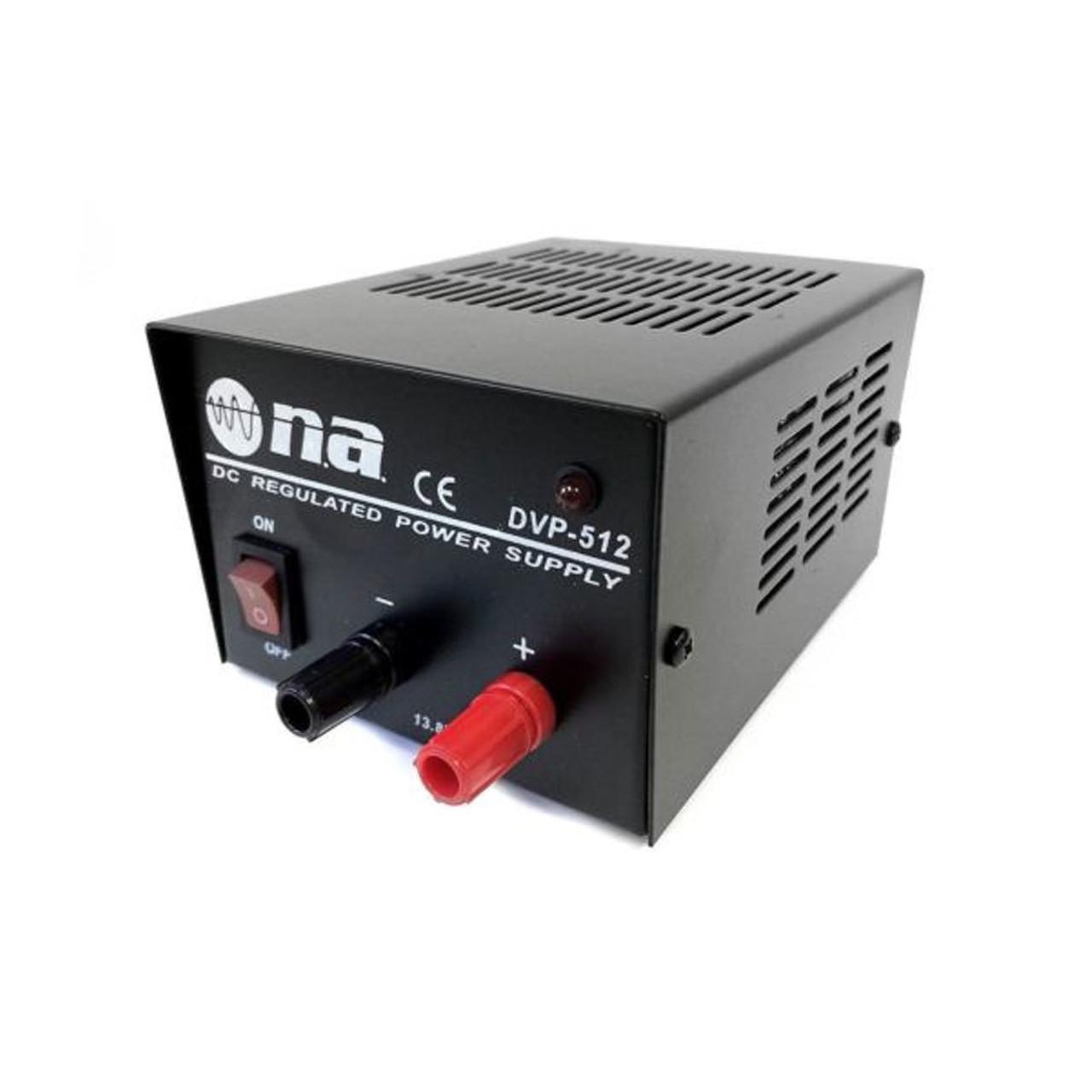12-Volt DC Regulated Power Supply 3-5 Amp Surge Converter 110 AC to 13 8V