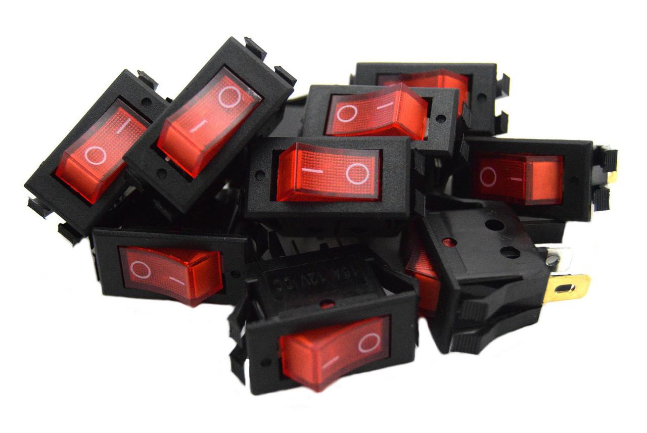 10 pack 12 volt lightning red led rocker mini switch on off car10 pack 12 volt lightning red led rocker mini switch on off car automotive