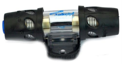 AGU Inline Glass Style Fuse Holder Audiopipe 4 Ga and 8 Ga Car Audio Apmlifier