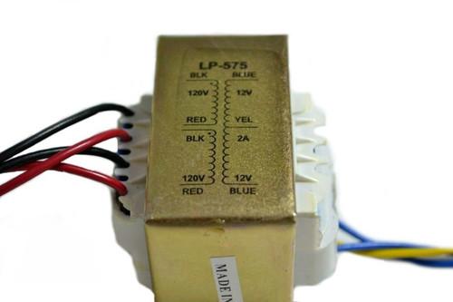 Line Matching Transformer - LP-575 110/220V, 12-0-12V, 2A Nippon America