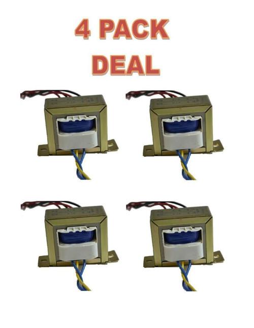 4 PACK Line Matching Transformer 2A - LP-575 110/220V, 12-0-12V, 2A