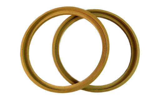 """1 Pair 10"""" RING-10BZ MDF Speaker Ring Recess With Bezel MOUNTING SPACER RECESSED"""