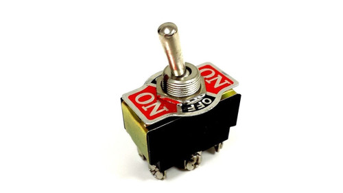 Toggle Switch Center-Off 20AMP EC-1520 DPDT-CO ON-OFF-ON Car Free Shipping New