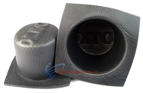 "6"" Round Large Frame Foam Car Speaker Baffles 1 PAIR 6 Inch VXT60 Install Bay"