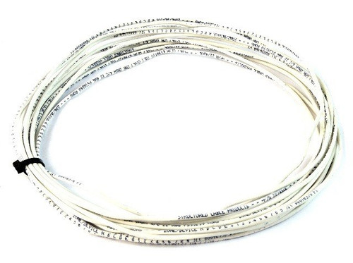 50' ft 22 Gauge 4 Conductor Stranded Security Alarm Wire Cable White