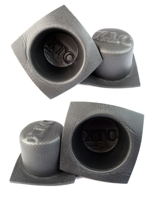 "Install Bay 6.5"" Acoustic Speaker Baffle Audio Bass Reflex System 2 Pairs VXT65"
