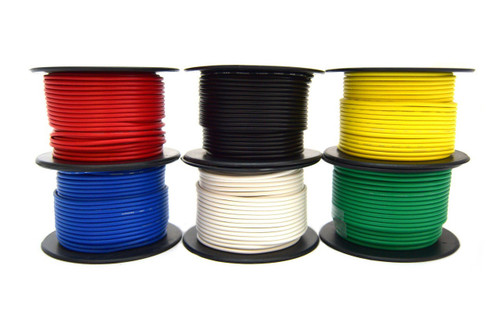 18 Gauge 50 Feet Brown 1 Roll Remote Primary Cable Wire Led Best