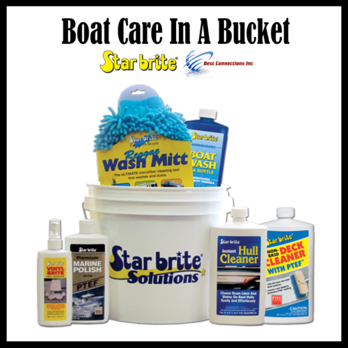 STARBRITE BOAT CARE BUCKET 83701 STARTER KIT FREE SHIPPING FROM FLORIDA