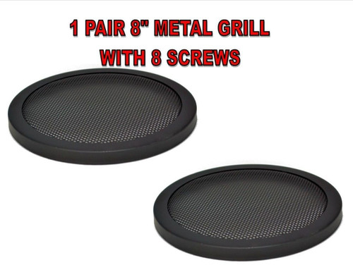 Speaker Grills - 8 Inch - Best Connections, Inc