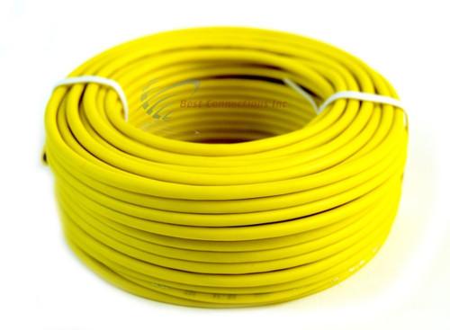 14 GA 50' Yellow Audiopipe Car Audio Home Remote Primary Cable Wire