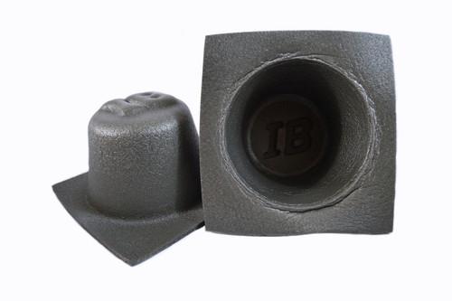 """1 Pair 6.5"""" Acoustic Speaker Baffle Car Bass Reflex System Install Bay IBBAF65"""