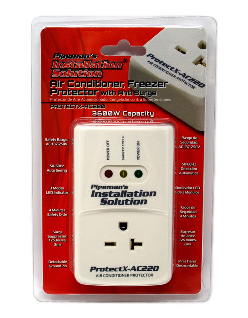 AC 220v Surge Brownout Voltage Protector 3600 Watts Air Conditioner (New Model)