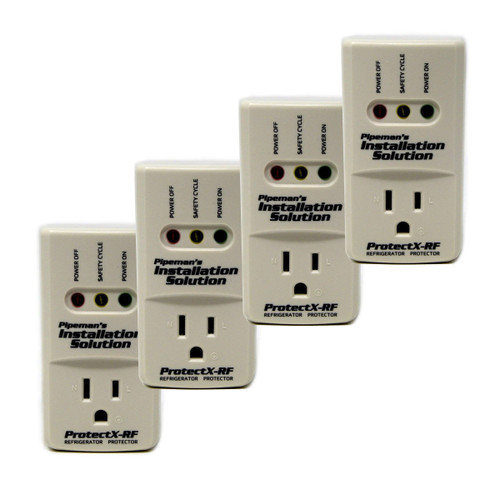 4-Pack 1800 Watts Refrigerator Voltage Surge Protector Appliance (New Model)