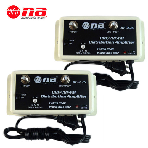 36 DB Cable Antenna Color TV Booster Signal Amplifier VHF