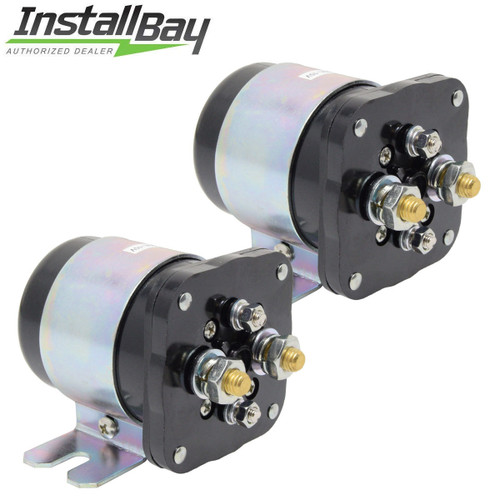 2-Pcs Power Relay battery Isolator 500 Amp High Current 12V Metra by Install Bay