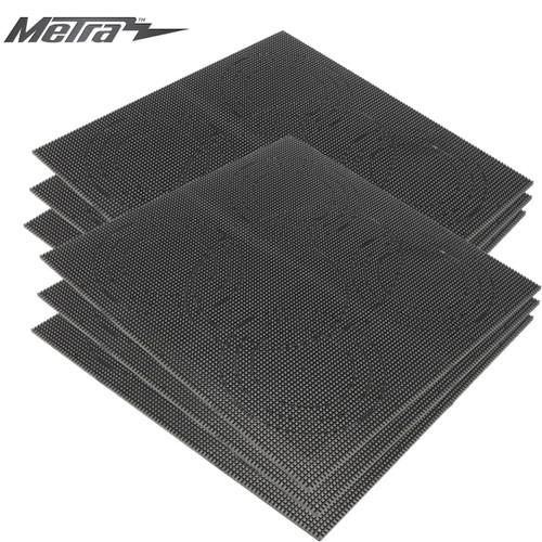 6-Pack ABS Plastic Sheet Gridplate Pre-Scored Custom Installation 12in x 12in