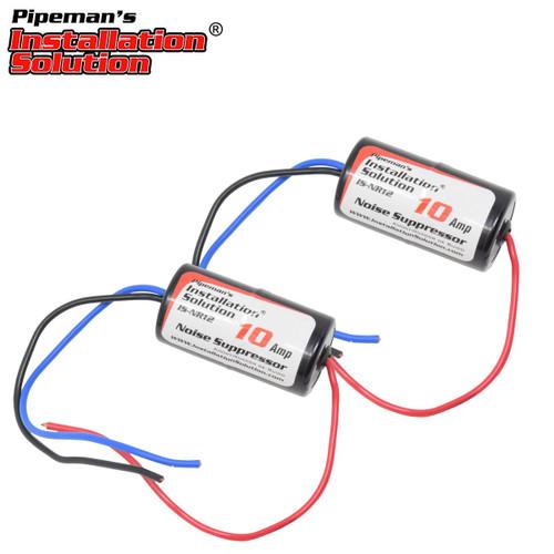 2-Pack 10 Amp In Line Power Engine Noise Eliminator Suppressor Filter Isolator
