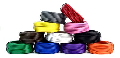 16 GA 50' Feet Audiopipe Primary Power Wire Remote Car Audio LED Home (7 Rolls)