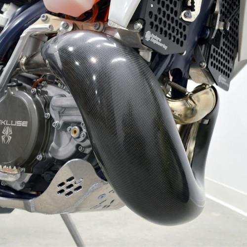 Enduro Engineering 40-717 Carbon Fiber Exhaust Guard for 17-19 KTM /& Husqvarna