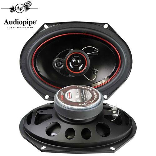 """Audiopipe 6x8"""" 3-Way CSL Series Coaxial Car Speakers 300 Watts (1-Pair)"""