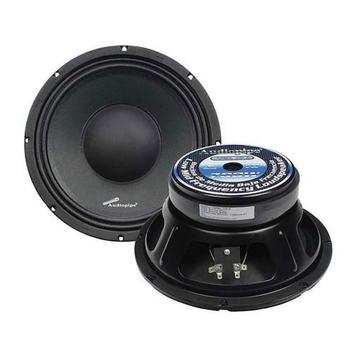 """1-Pair Audiopipe 10"""" Midbass Speakers APSL Series 700W 8-ohm Loudspeakers"""