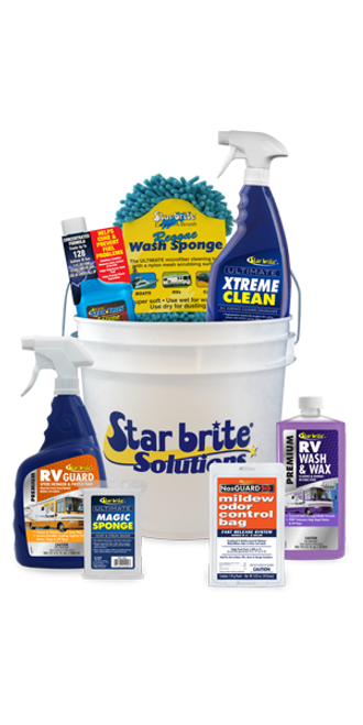 Star brite RV Care Kit in a bucket