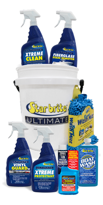 Star brite Ultimate Boat Care Kit in a bucket
