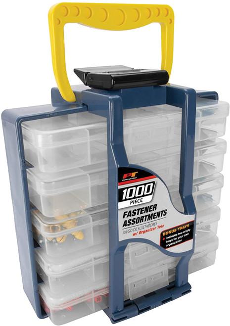 Performance Tool 1000 Piece Organizer Tote w/ Fasteners
