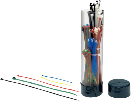 Performance Tool 250 Piece Cable Tie Assortment
