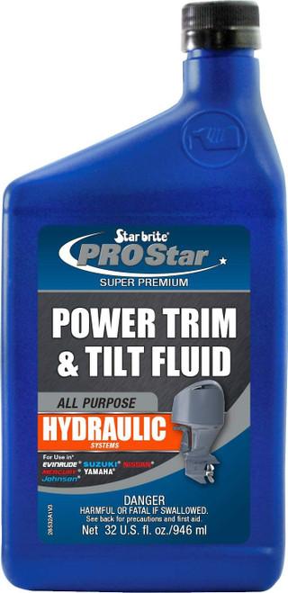 Star Brite Pro Star Super Premium Power Trim and Tilt Fluid - 32 oz - 28532