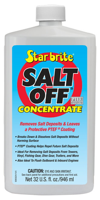Star Brite Salt Off Concentrate with PTEF Protective Coating - 32 oz - 93932
