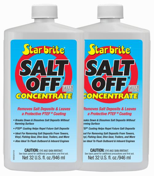 2 PackStar Brite Salt Off Concentrate PTEF Protective Coating - 32 oz - 93932