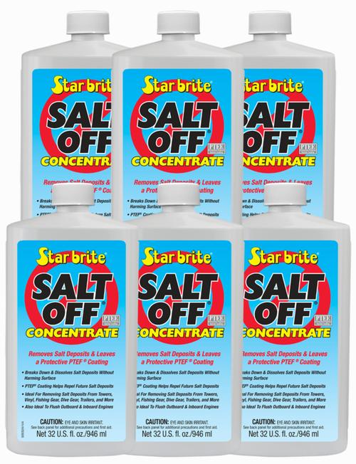6 PackStar Brite Salt Off Concentrate PTEF Protective Coating - 32 oz - 93932