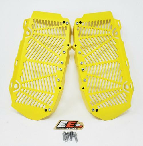 Enduro Engineering Custom Yellow Radiator Guards Billet for 16-21 KTM/Husqvarna