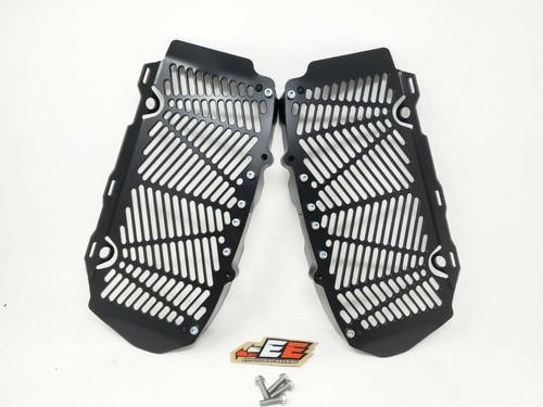 Enduro Engineering Custom Black Radiator Guards Billet for 16-21 KTM/Husqvarna