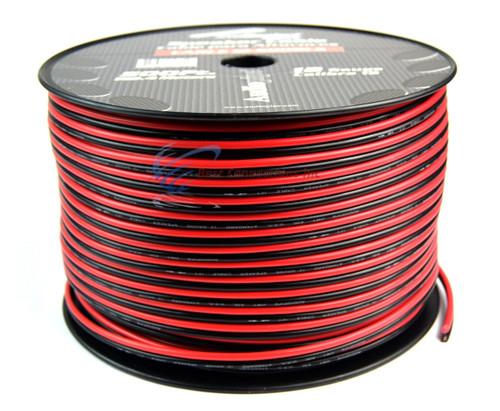 500' Feet 12 Gauge Red Black Speaker Wire Home Car Zip Cord Copper Mix  Stranded