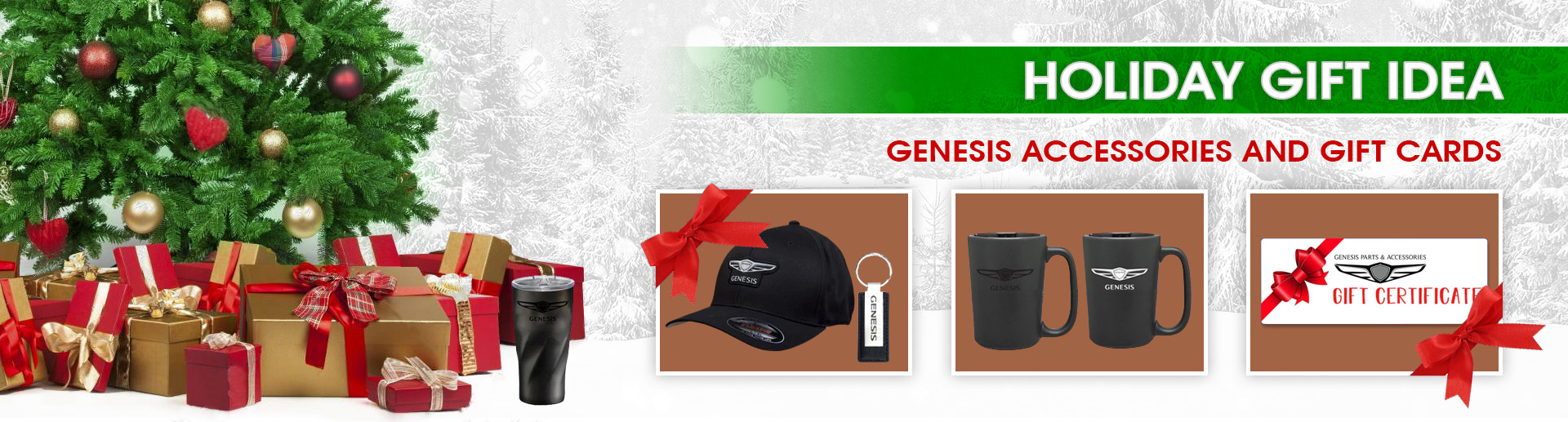 Genesis Holiday Gift Guide